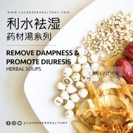 REMOVE BODY DAMPNESS & PROMOTE DIURESIS HERBAL SOUP 利水袪湿药材汤